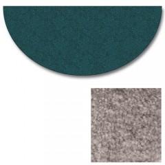 Polyester Half Round Barnwood Rugs