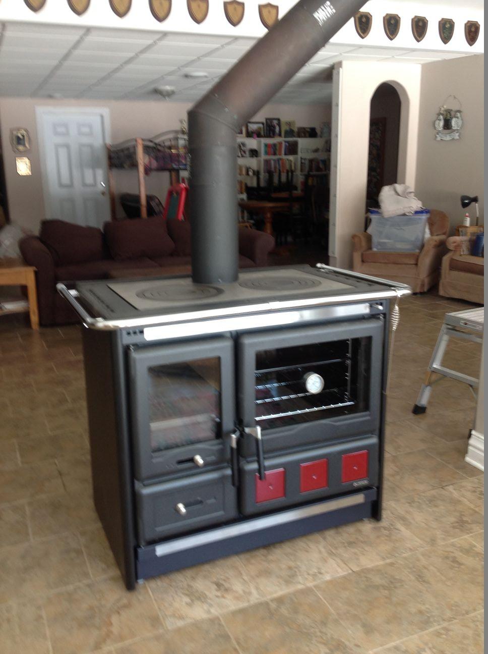 cuisini re au bois rosa xxl par la nordica. Black Bedroom Furniture Sets. Home Design Ideas