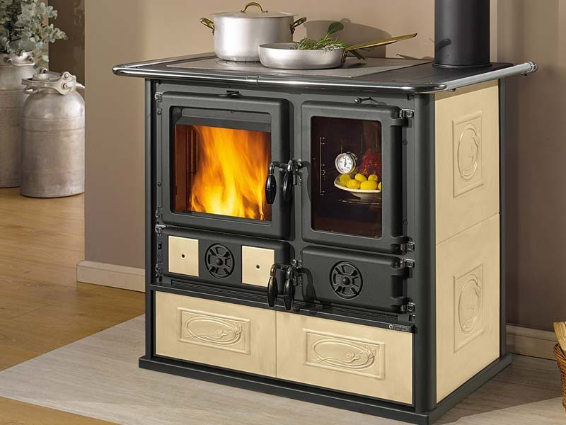 la nordica rosa reverse wood burning cook stove. Black Bedroom Furniture Sets. Home Design Ideas