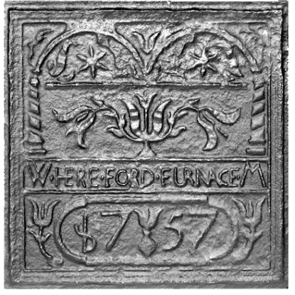 Hereford Stove Plate