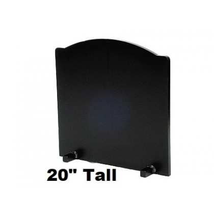 "3/4"" x 20"" Tall T-HDRF-5 Reflective Fireback 21"" Wide"