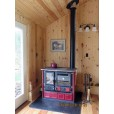 Wood cook stove chimney