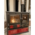red cook stove