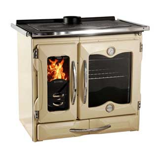 cook stove cooking on wood