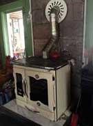 wood stove chimney